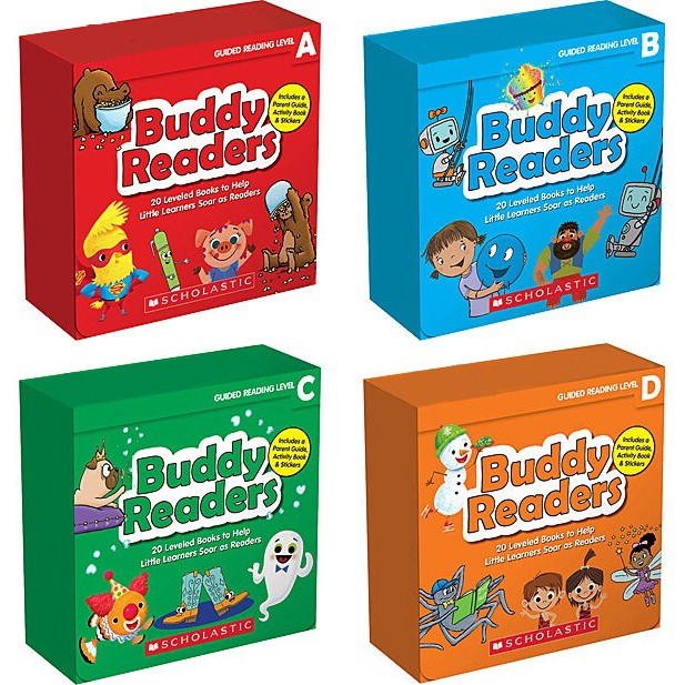 Scholastic Buddy Readers (w/ CD) 英文讀本【歌德書店】