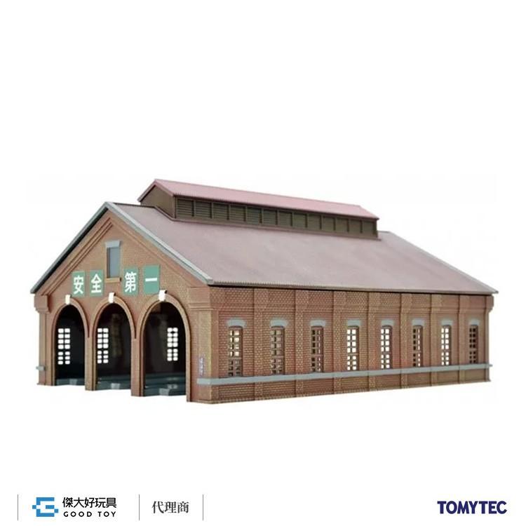 TOMYTEC 284475 建物 122-2 三線式磚造車輛機關庫2