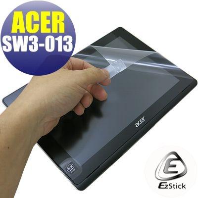 【Ezstick】ACER Switch 10 E SW3-016 靜電式平板LCD液晶螢幕貼 (可選鏡面或霧面)