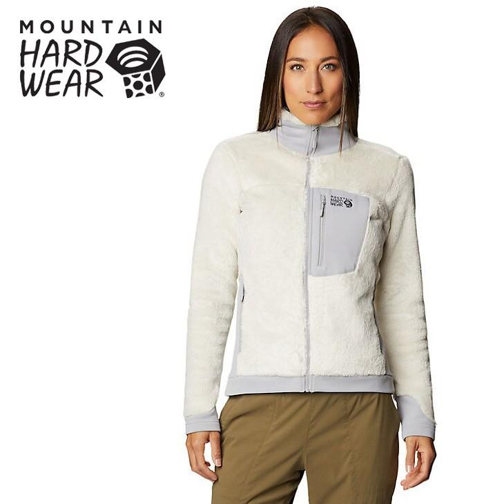 【Mountain Hardwear 美國】Monkey 經典絨毛外套 女款 石灰色 (1902521-022)