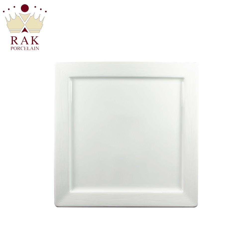RAK Porcelain ACCESS 精細條紋正方盤 10.5吋