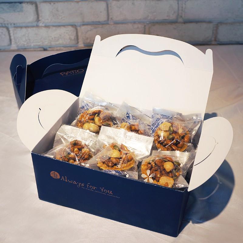 【PATIO 帕堤歐】  堅果塔12入禮盒 堅果/團購/造型蛋糕/生日蛋糕/卡通蛋糕/禮盒