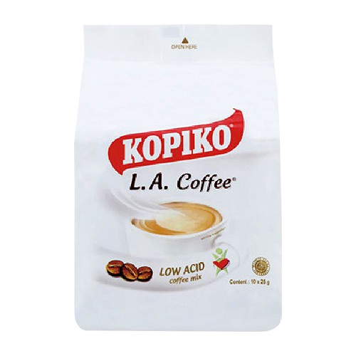 印尼 KOPIKO LA三合一即溶白咖啡(250g)【小三美日】D410998