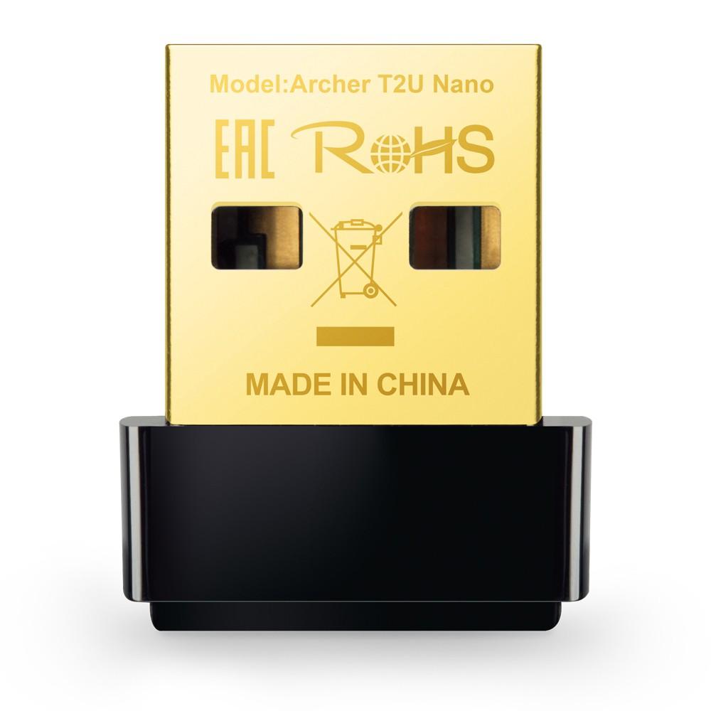 TP-LINK  Archer T2U Nano AC600 無線微型 USB 網路卡 –WL088
