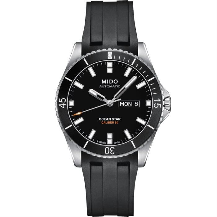 MIDO 美度 Ocean Star 200m 海洋之星潛水腕錶 -黑膠/42.5mm (M0264301705100)