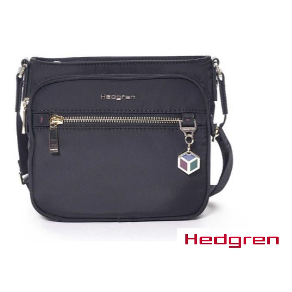 2017新系列 HEDGREN 側背/斜背超質感時尚黑金多層口袋小包護照包 HCHM03S 免運歡迎詢問優惠