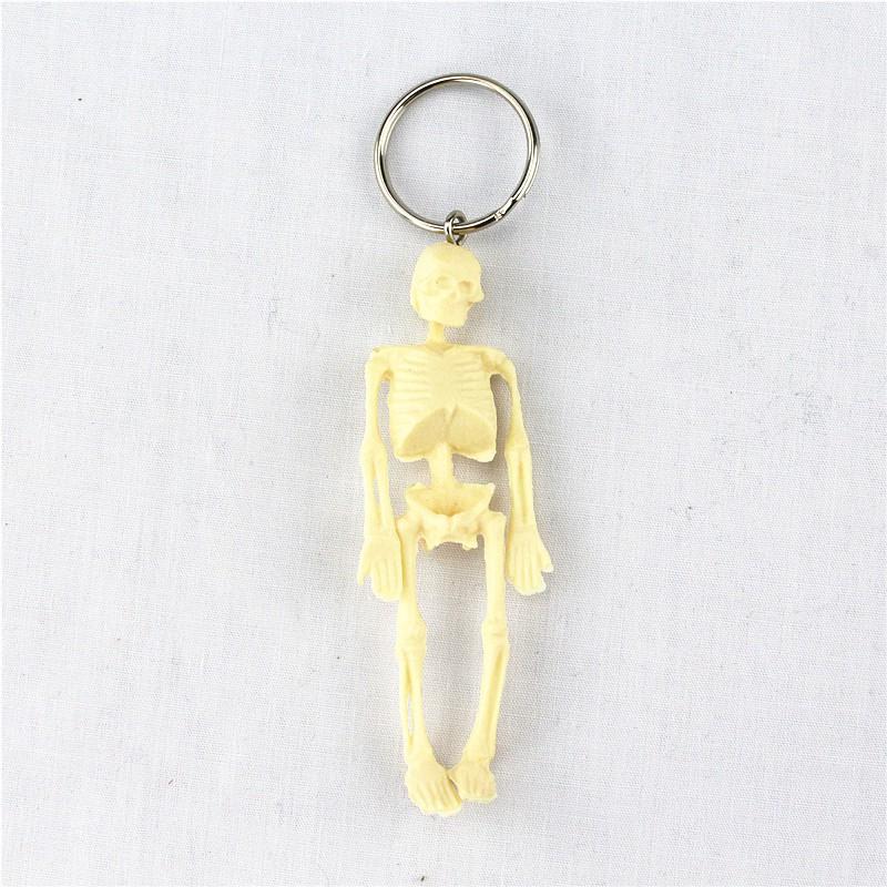 人體骨骼鎖匙扣飾品禮品掛件鑰匙扣人體器官解剖醫學教學玩具YSK004