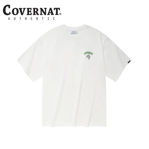 [COVERNAT] 21春夏 Surfing Dolphin T恤(白色)