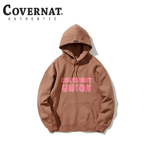 [COVERNAT] 20秋冬 泡泡糖聯盟帽T(咖啡色)