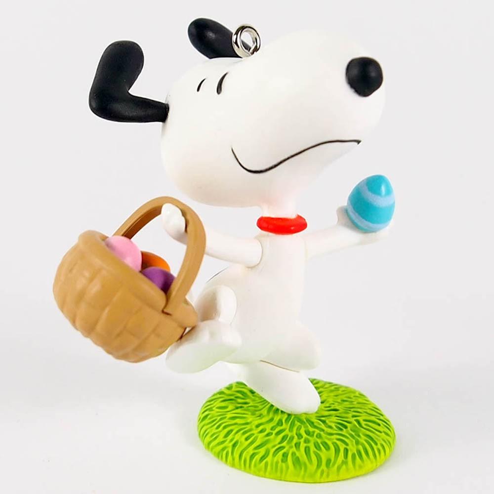 【Hallmark】 Snoopy Peanuts史奴比 吊飾 復活節小獵犬
