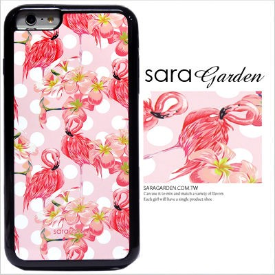 客製化 手機殼 iPhone 6 6S Plus【多款手機型號提供】粉嫩紅鶴 光盾 L014 Sara Garden
