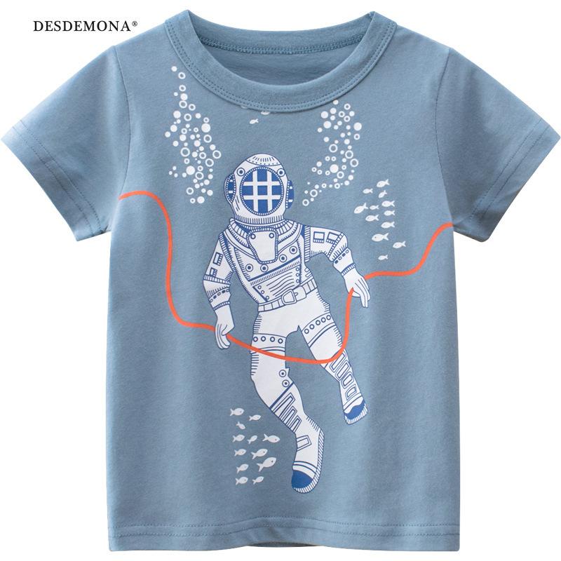 2021夏季新款韓版童裝 兒童短袖T恤寶寶衣服半袖上衣  純棉短袖