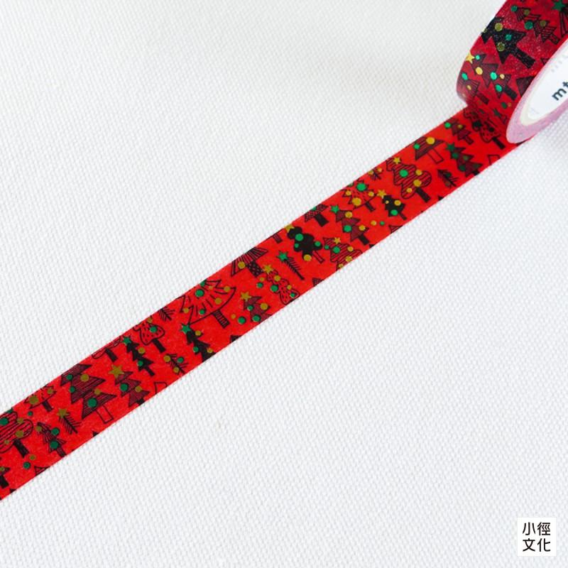 【mt】日本進口和紙膠帶 mt 2014 X'mas - 紅色聖誕 ( MTCMAS47 )[小徑文化]