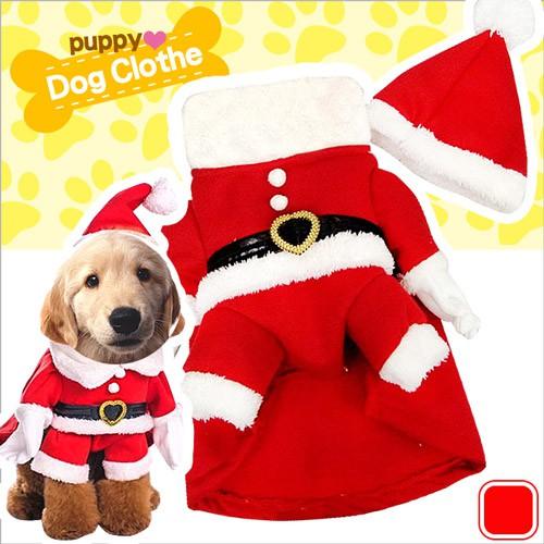 立體造型聖誕老人變身寵物裝E118-A29寵物服裝.耶誕聖誕寵物衣服寵物服裝.小狗衣服貓4腳衣服.聖誕節用品
