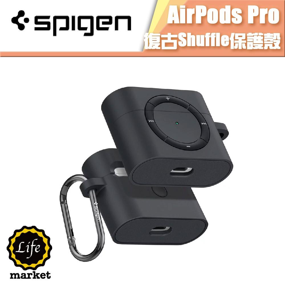 SGP 適用 AirPods Pro 防摔 保護殼 經典 Shuffle Spigen 矽膠TPU 【 出清專區 】