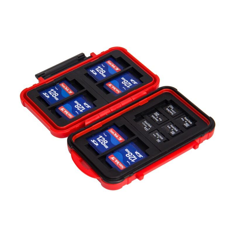 內存卡包 銳瑪 相機存儲卡盒 收納卡包SD CF XD TF卡防水 單反數碼內存卡盒