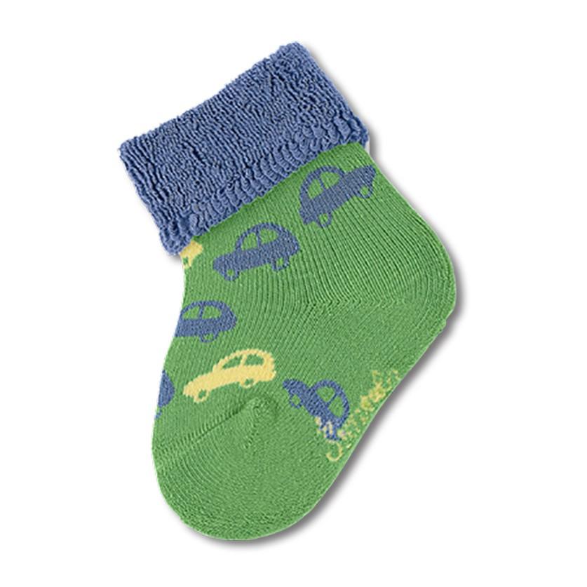 STERNTALER 厚底寶寶襪子-汽車綠(6cm)  C-8301611-256