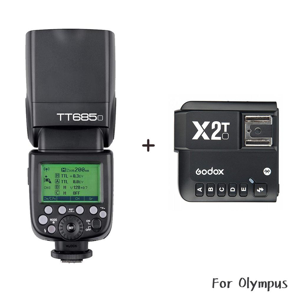 Godox 神牛 TT685O + X2 發射器 TTL機頂閃光燈 Olympus TT685 相機專家[開年公司貨]