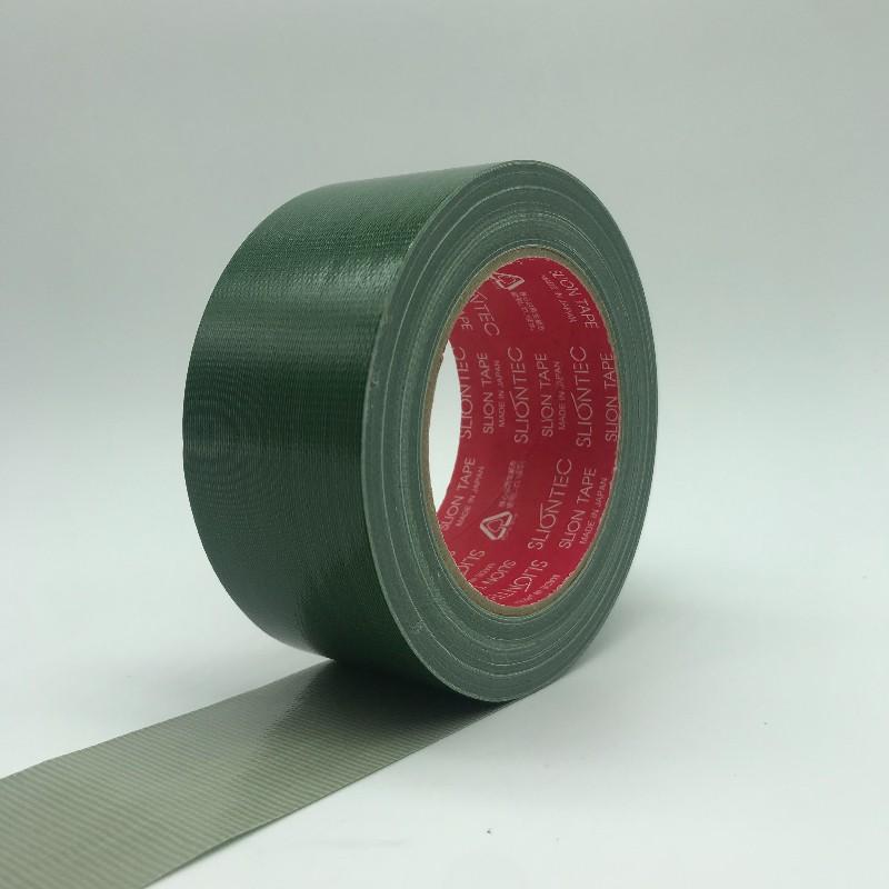 【協技科技】日本製造布膠帶(軍綠)50mmX25M大力膠帶 防水 部件固定 修補防油 耐溫 不易捲翹 不易鬆脫 無毒