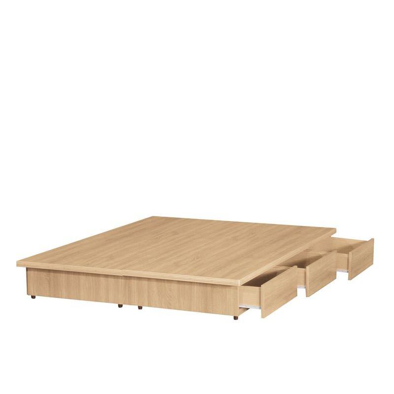 【KB162-30】3.5尺雪松全木心板床底