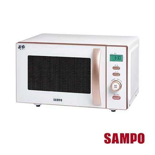 SAMPO聲寶 21L平台式微電腦微波爐 RE-N921PM 免運費
