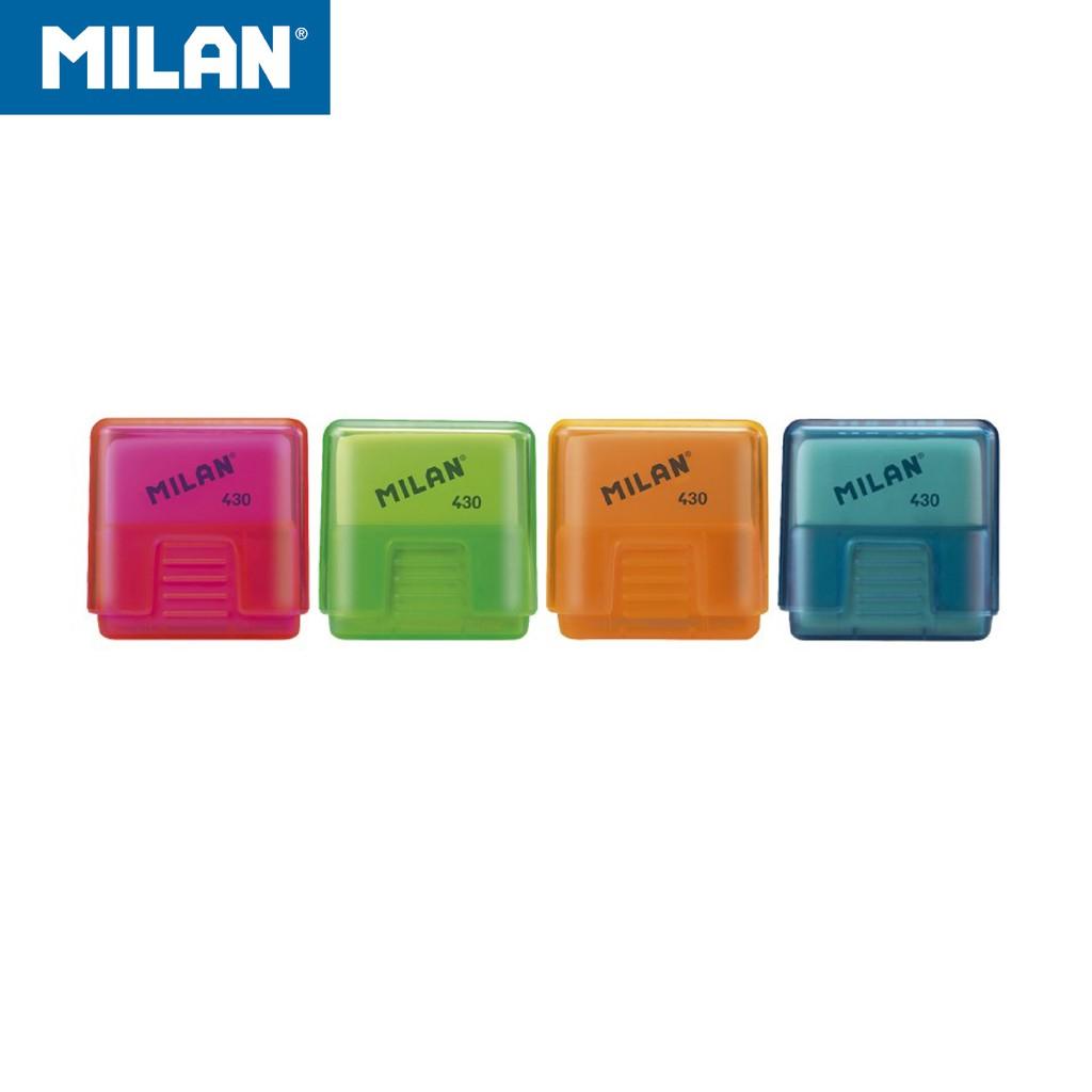 MILAN方形橡皮擦_果凍方塊(4色可選)