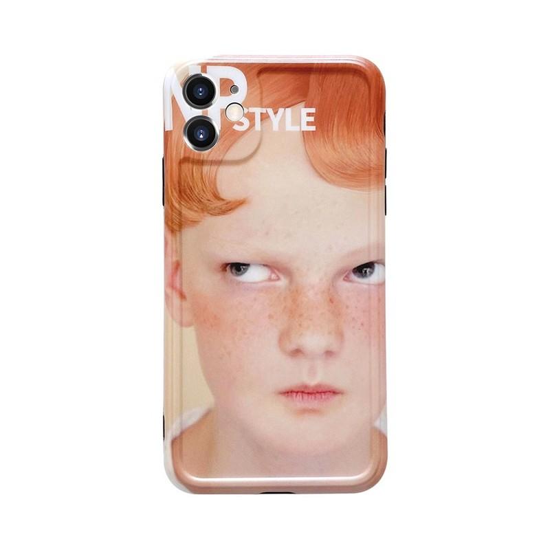 新上架-歐美搞怪男孩iPhoneX/XS硅膠蘋果11proMax軟殼7/8plus手機殼XR/se創意個性韓風全包保護套