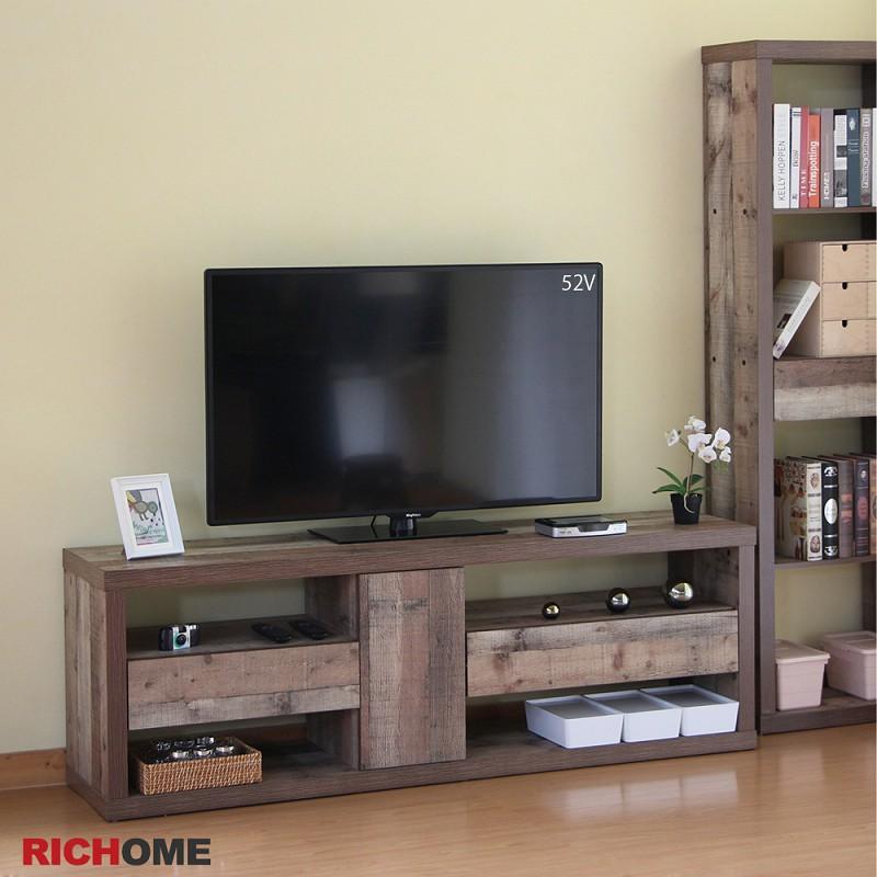 RICHOME   TV162   奈德六呎視聽櫃    電視櫃   視聽櫃     收納櫃    客廳