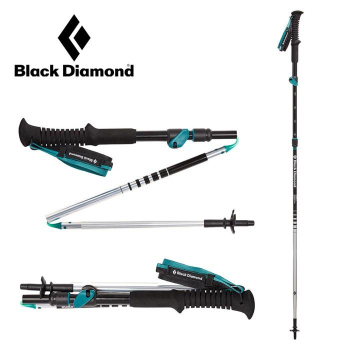【Black Diamond 美國】DISTANCE FLZ  Z-POLE 鋁合金登山杖 女款 (112207)