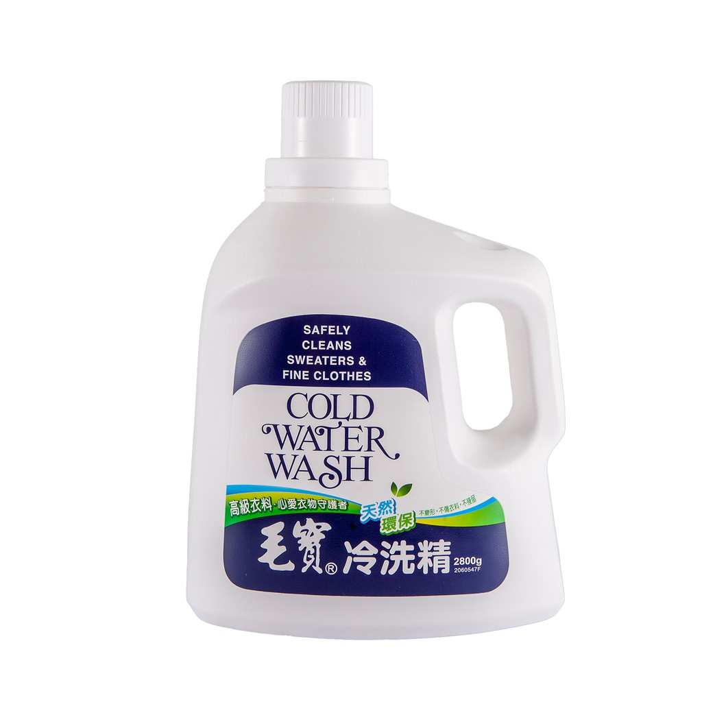 毛寶冷洗精-天然環保配方  【大潤發】