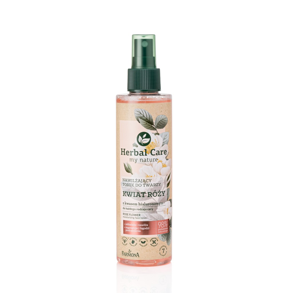 Herbal Care 波蘭植萃 - 大馬士革玫瑰玻尿酸保濕化妝水 62885