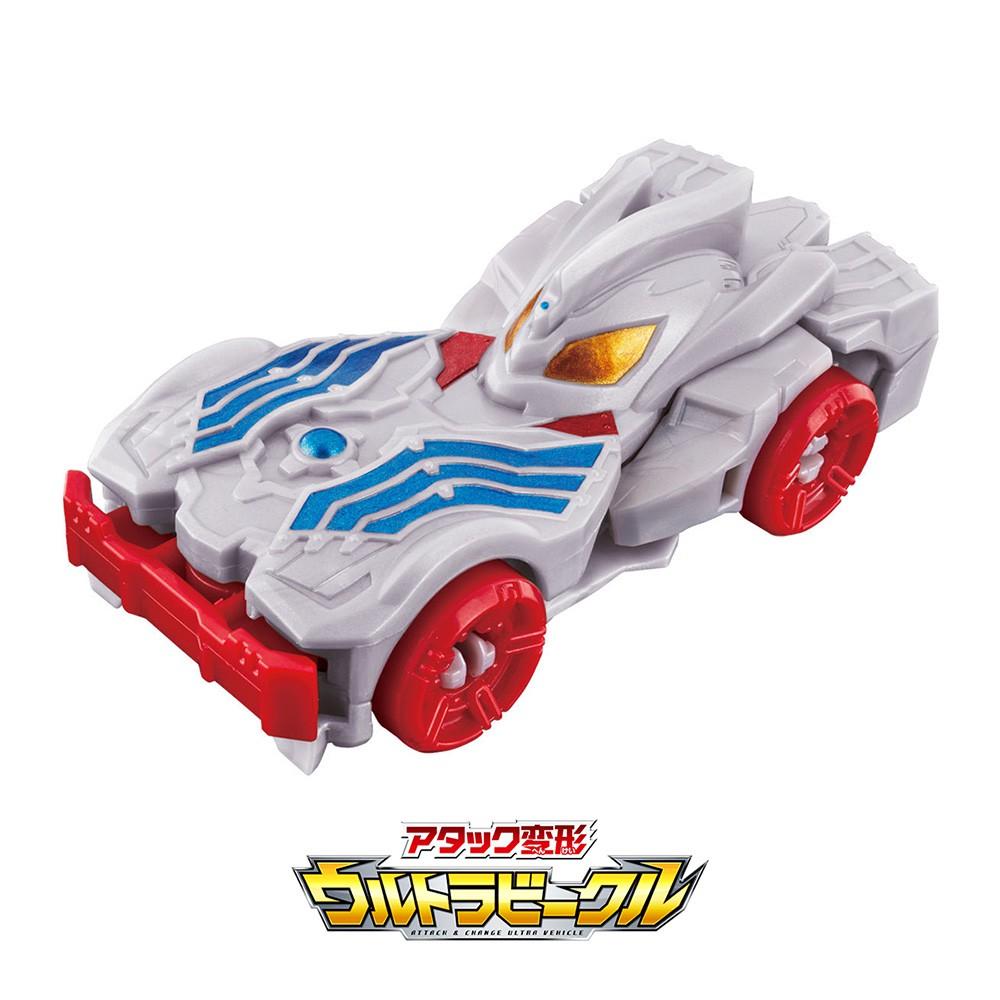 【BANDAI】代理版 特攝 超人力霸王 衝撞變形車 大河 TAIGA