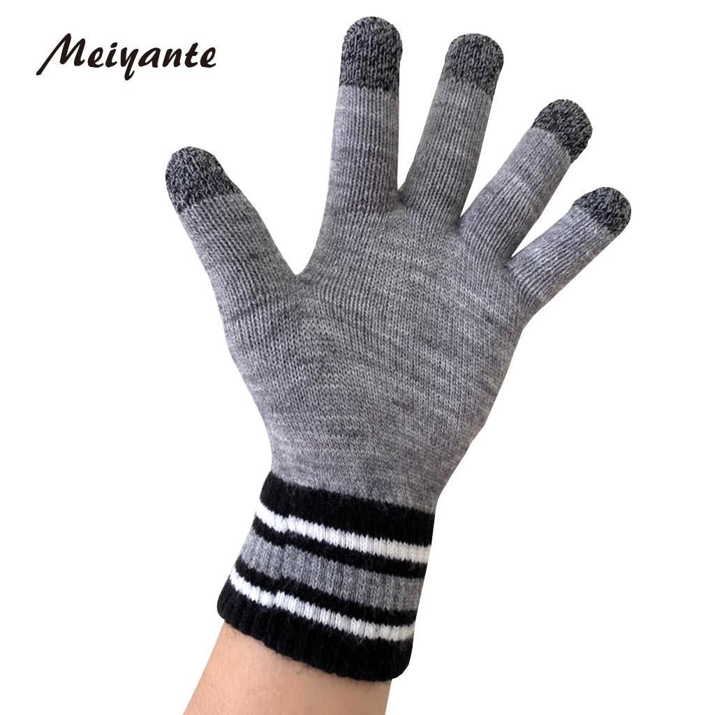 【Meiyante 渼妍特】台灣製 觸屏保暖手套 保暖手套 雙層內裏 出國 雪地 必備 男女適用 台灣製 時尚 多款可選