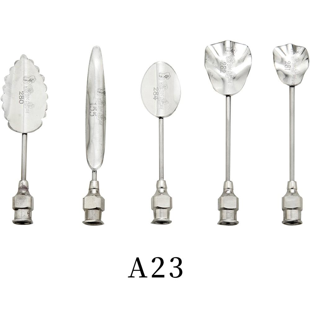 優果《越南進口不鏽鋼果凍花針A23》每組內含5支針