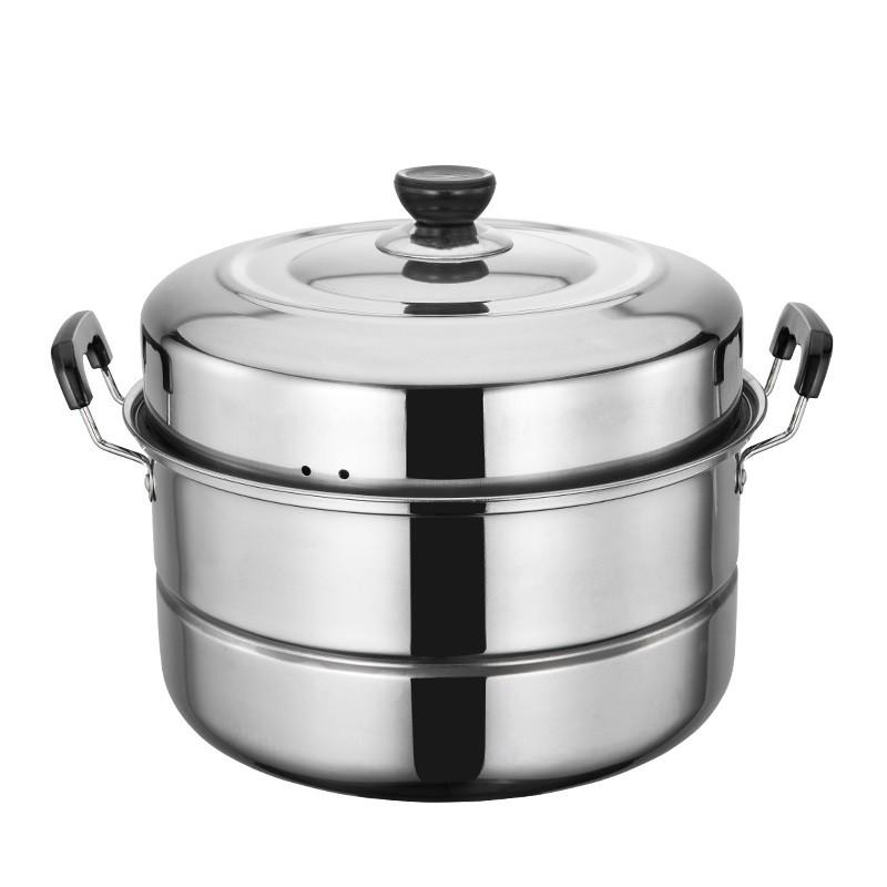 蒸籠 不銹鋼蒸鍋大號雙層加厚2層小蒸籠單層電磁爐家用大容量蒸饅頭鍋