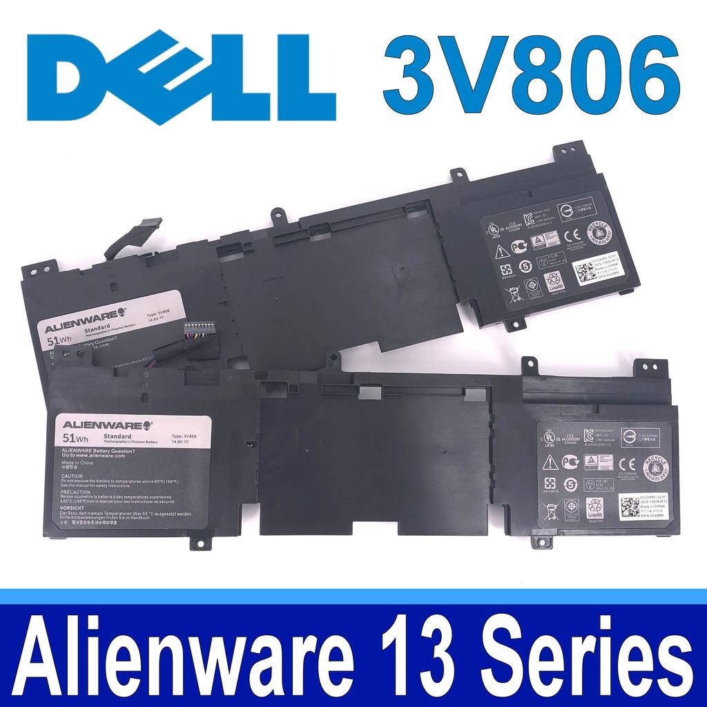 DELL 3V806 4芯 . 電池 Alienware 13 系列 Alienware QHD ECHO 13 系列