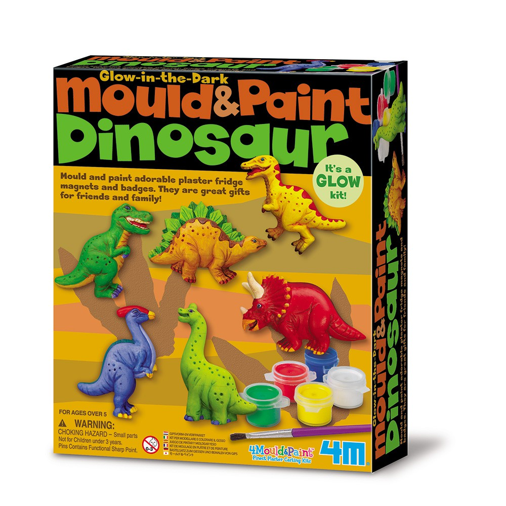[4M] 製作磁鐵-侏儸紀公園 Glow Dinosaur