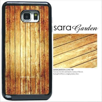 客製化 手機殼 三星 Note5【多款手機型號提供】仿舊木紋 光盾 L028 Sara Garden