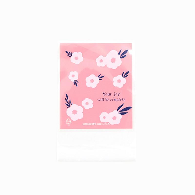 Gracebell包裝系列 彩繪包裝袋(自黏) (02.Blooming bouquet)-10入