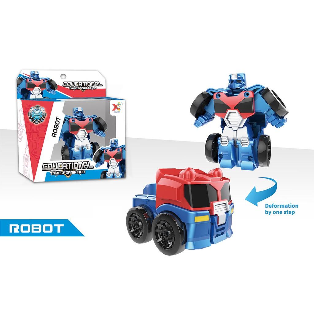 迷你車體變形機器人-卡車