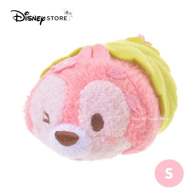 迪士尼【SAS日本限定】迪士尼商店 Disney Store 奇奇蒂蒂【奇奇】茲姆茲姆 櫻花版 玩偶娃娃 S號