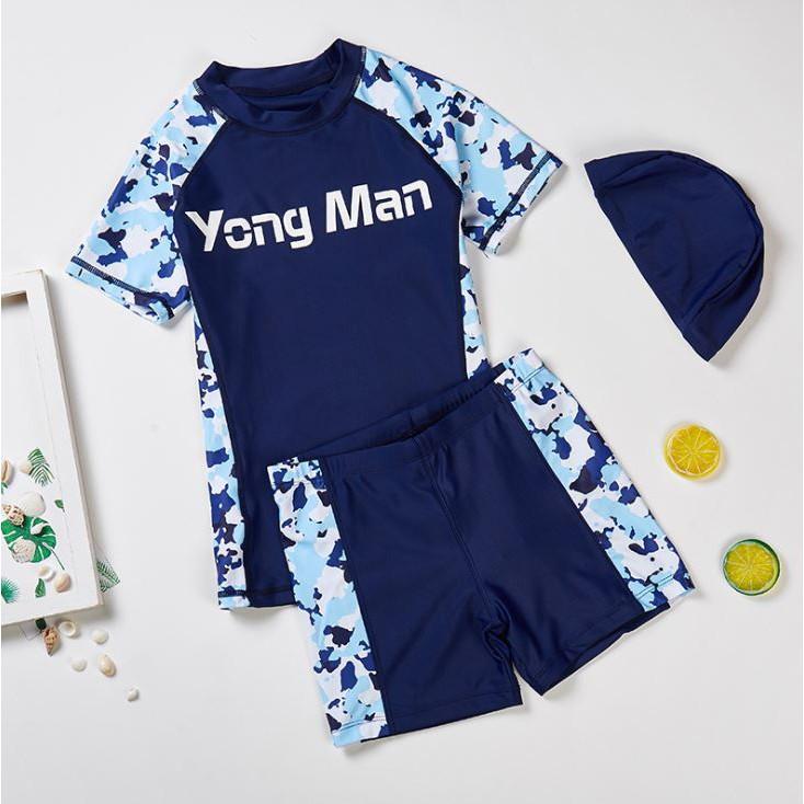 日韓系分離泳衣 - 【海洋碎花】