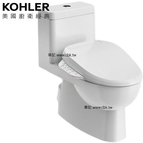 ★視覺美.促銷專案★ KOHLER Reach 五級旋風單體馬桶 K-3983K-HC-0 搭 C3-150電腦馬桶蓋