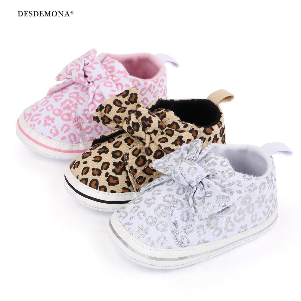 現貨出售 秋冬新款  豹紋嬰兒鞋寶寶魔術貼學步鞋軟底寶寶鞋批發 2488