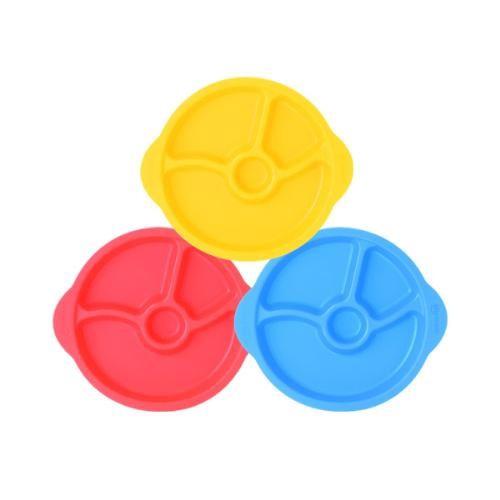 韓國 sillymann 100%鉑金矽膠防滑幼兒學習餐盤