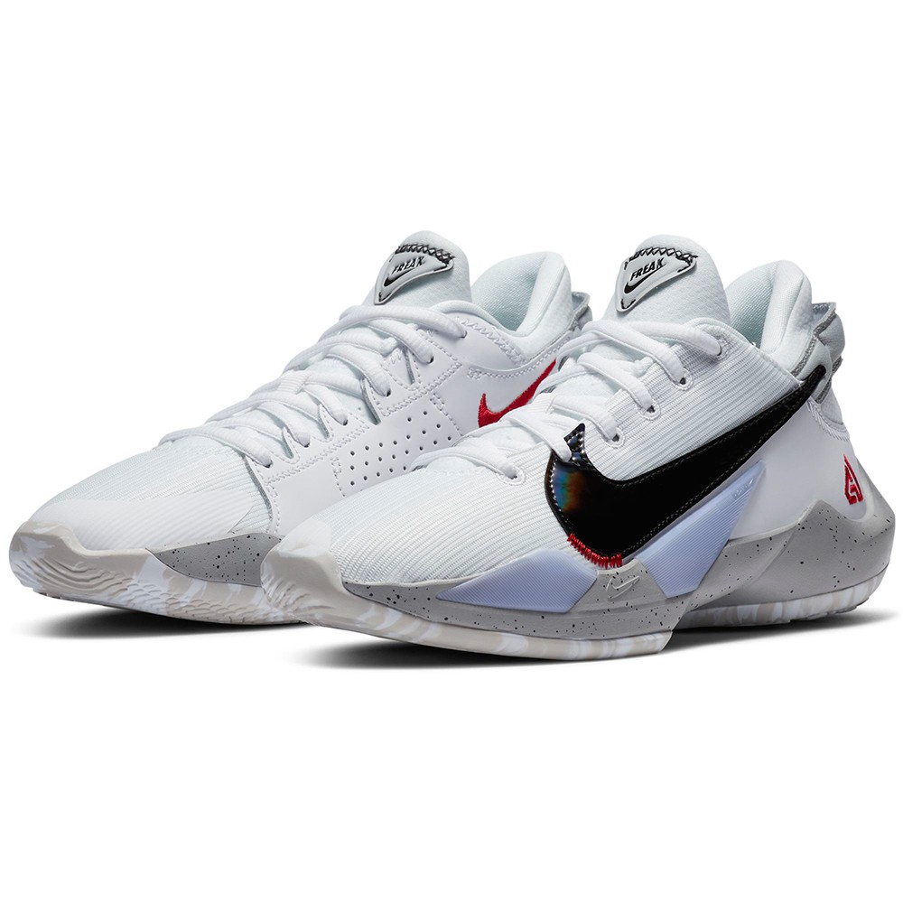 NIKE 耐吉209  大童 女鞋FREAK 2 GS  籃球鞋 緩震 包覆 運動鞋 白 CN8574100