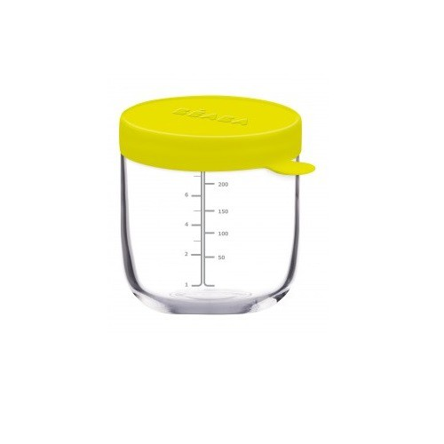 BEABA 玻璃儲存罐-250ml綠