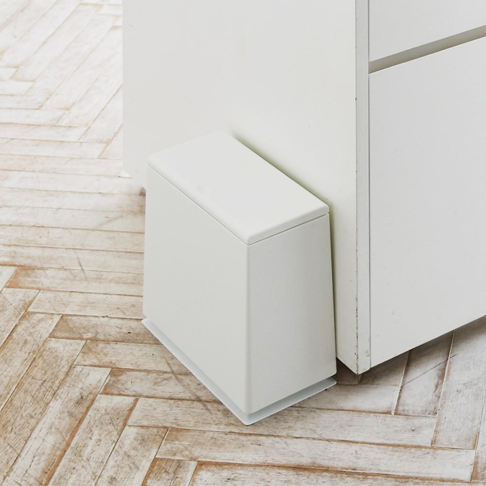 【日本 IDEACO】方形廚房垃圾桶8.5L-共2色《WUZ屋子》造型垃圾桶