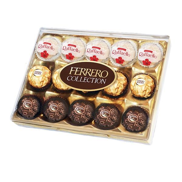 費列羅臻品巧克力禮盒15入裝 162g 【大潤發】