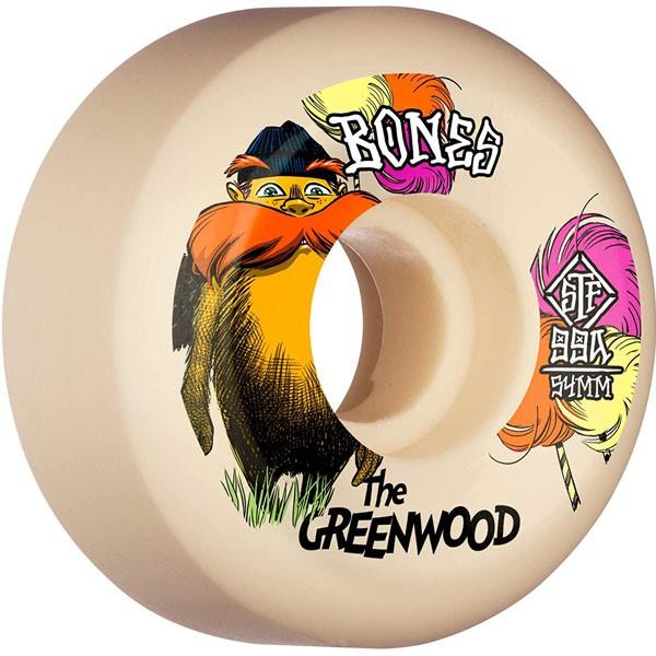 Bones V5 The Greenwood 54mm 99a (Sideuct) 輪子/滑板《 Jimi 》